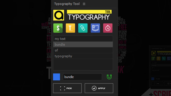 preview typography tool